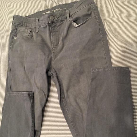 69b265d7683f63 Old Navy Rockstar gray jeans. M_5baef485c9bf507e842a9946